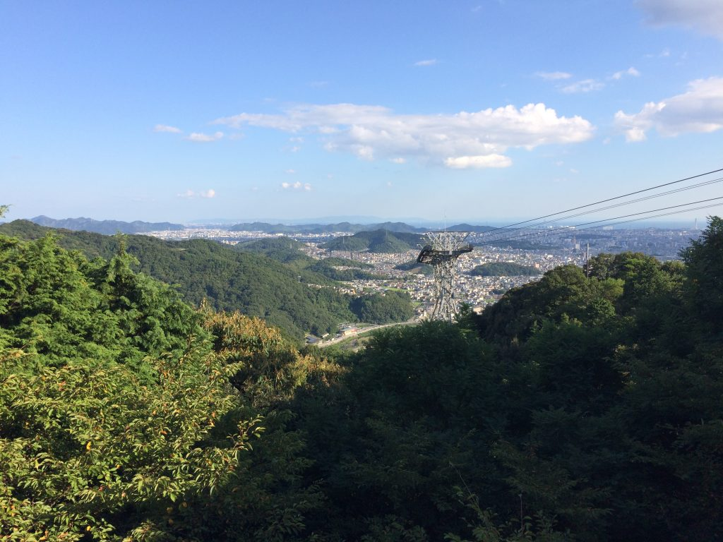 View from the Shosha Ropeway
