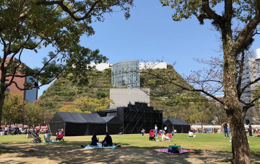 ACROS building, Fukuoka