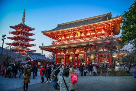 Senso-ji Temple, Asakusa. Licensed under CC. Credit: James Faulkner
