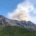 Hiking Sakurajima