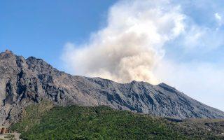Hiking Sakurajima