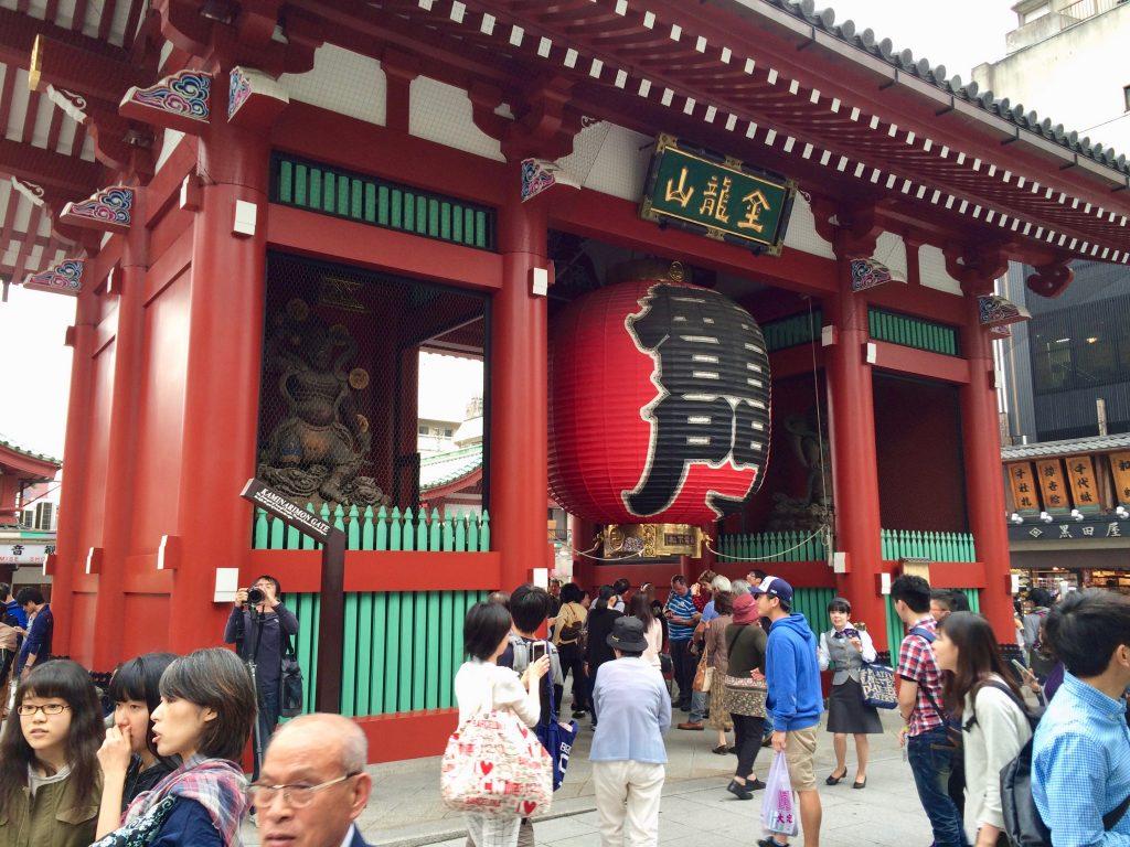 Kaminarimon Gate, senso-ji
