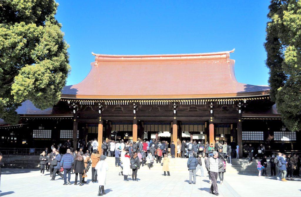 Meiji Shrine Main Building