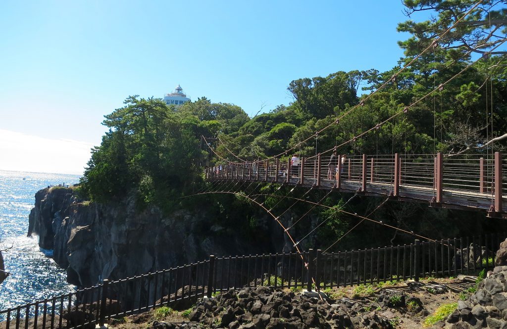 Kadowaki Suspension Bridge and Lighthouse