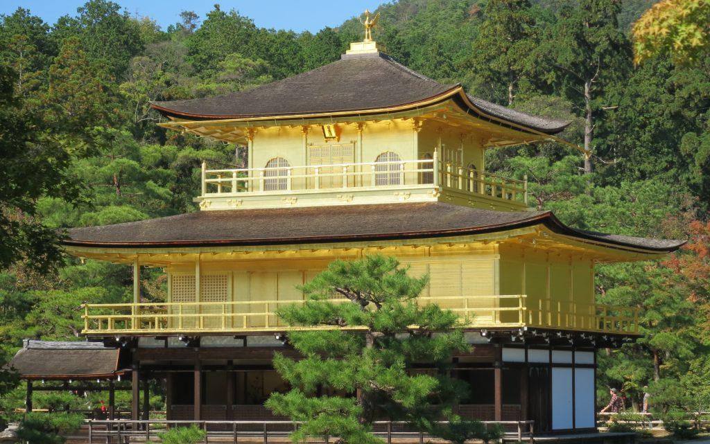 A closer look at Kinkakuji architecture