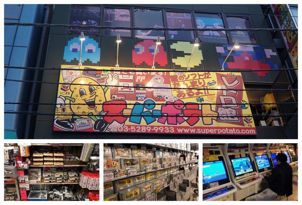 Super Potato Retro Games in Akihabara, Tokyo