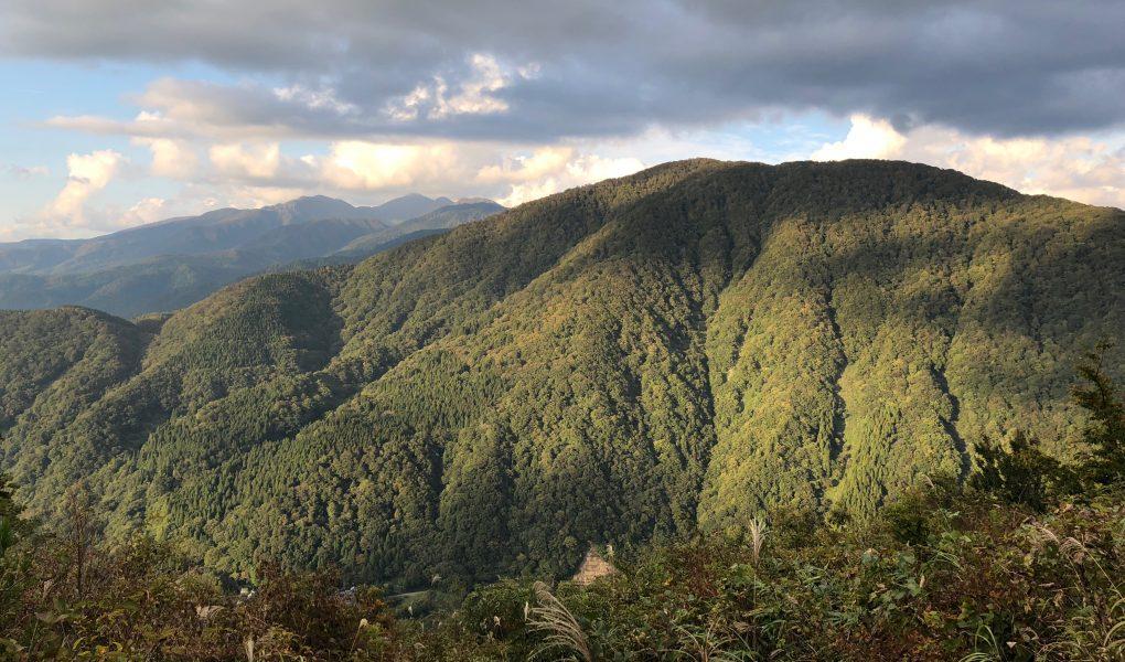 View from Mt. Arashima, Fukui Prefecture