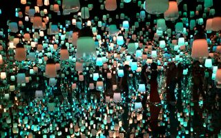 Teamlab Borderless Digital Art Exhibition