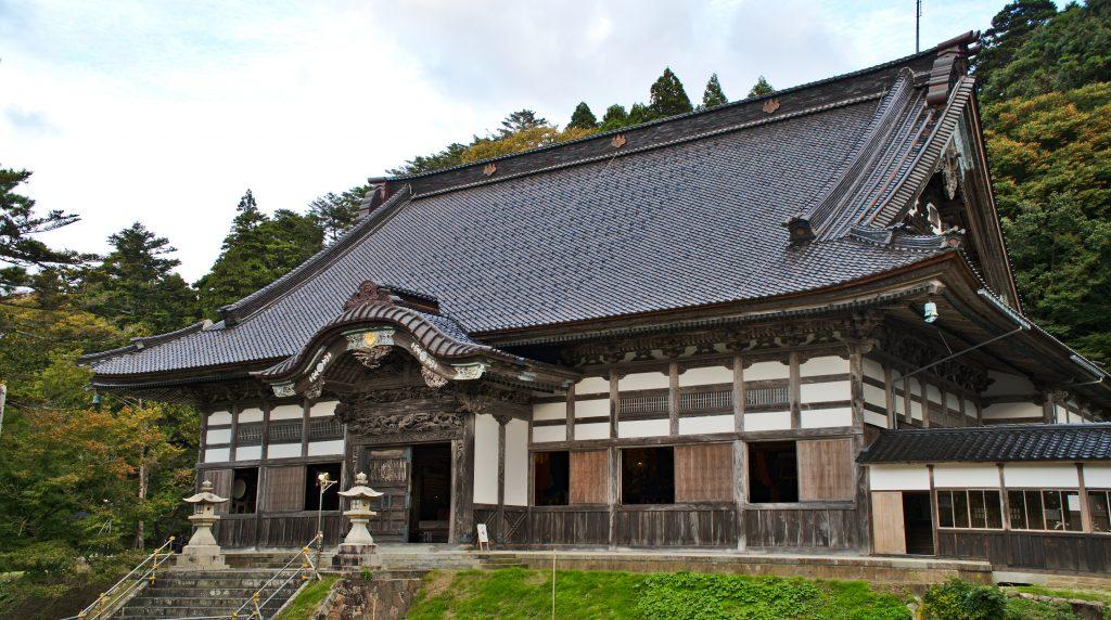 Sojiji Soin Temple, (Butsu-den) Noto peninsula