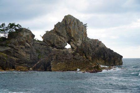 Madoiwa rock at Sosogi Coast