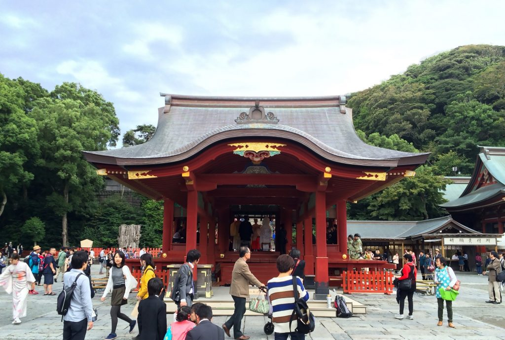 Tsurugaoka Hachimangu Shrine Maiden Dancing Stage