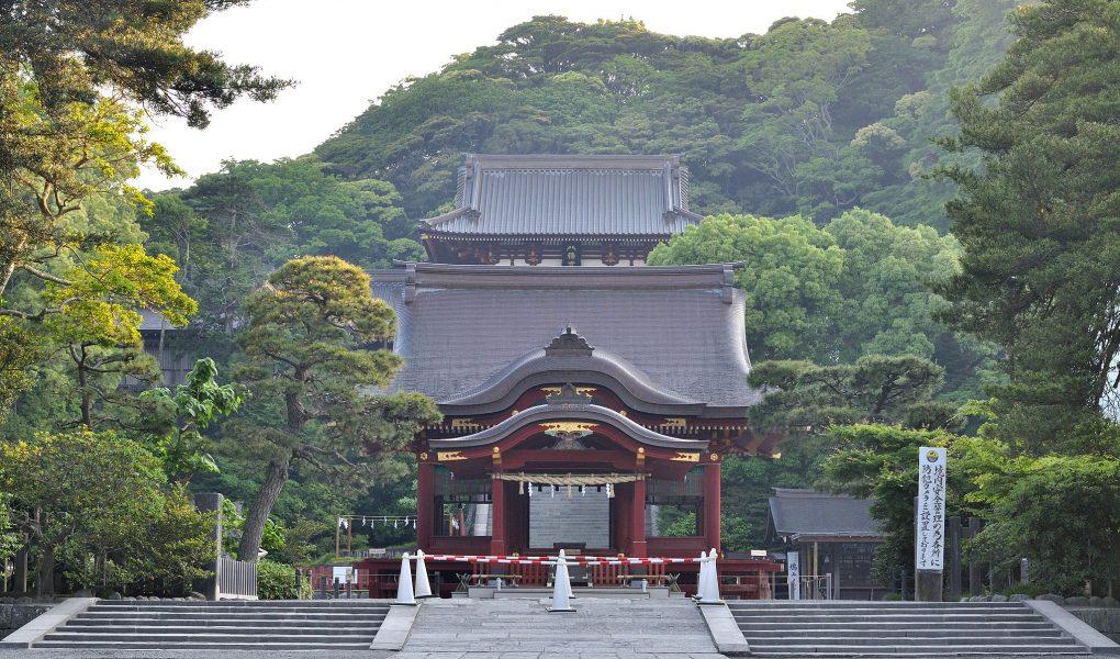 Tsurugaoka Hachimangu Shirne in Kamakura. Credit: ocdp, licensed under CC0 1.0.