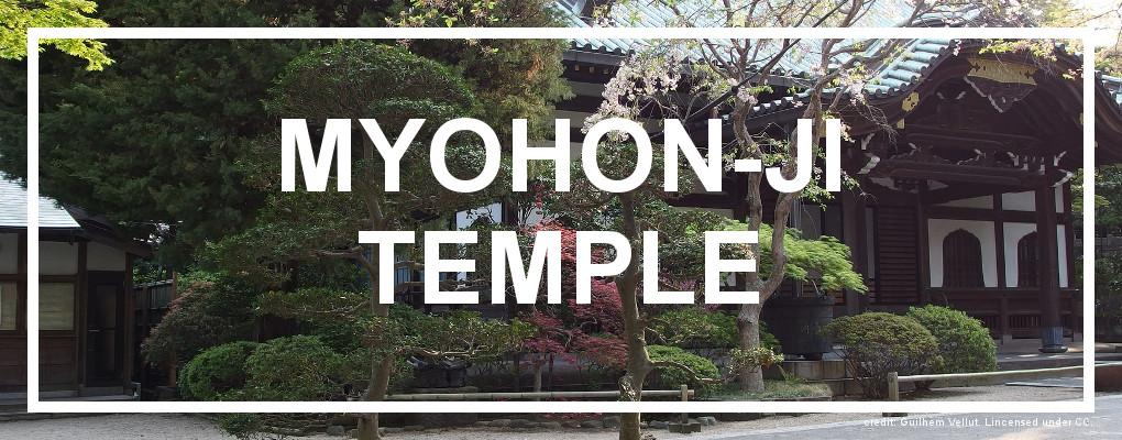 Myohon-ji Temple, Kamakura
