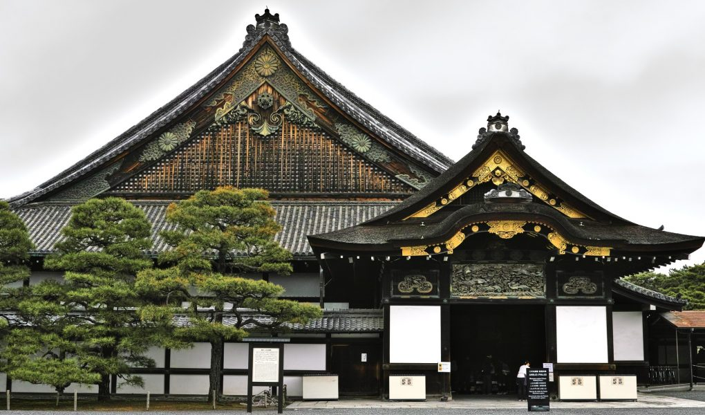 Nijo Castle, Kyoto. Credit: bethom33. Licensed under CC. Original modified.