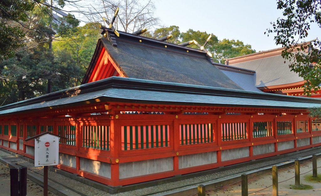 Sumiyoshi-jina shrine, Hakata, Fukuoka