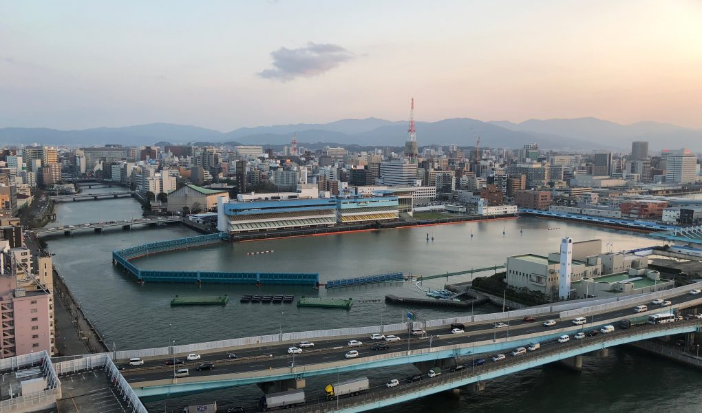 View from Hakata Port Tower