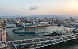 View from Hakata Port Tower