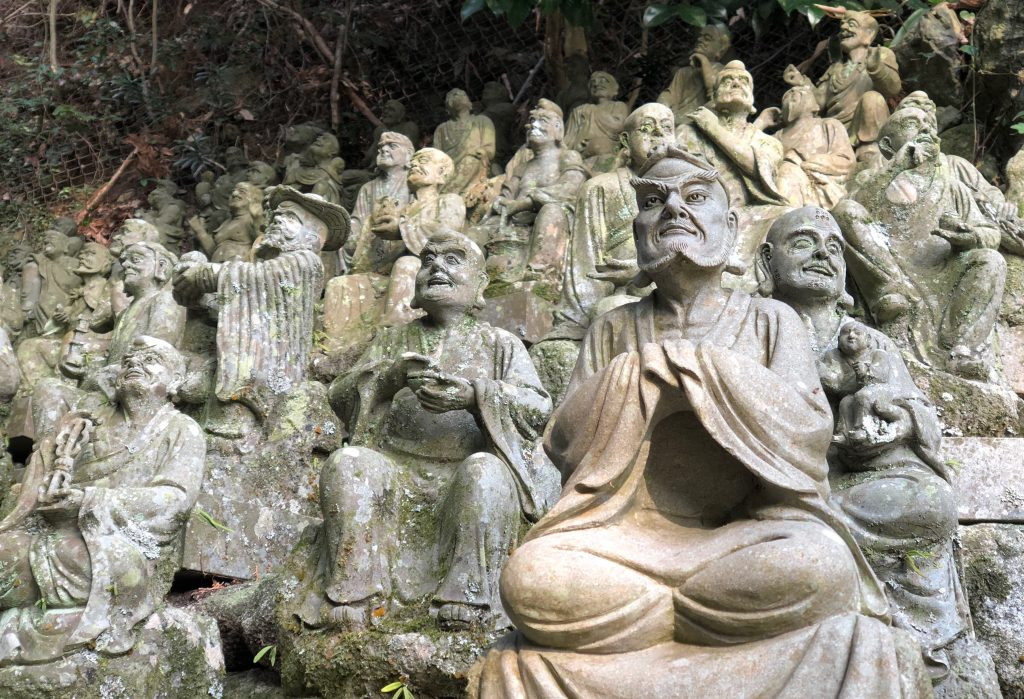 Buddha's disciples at Nanzo-in