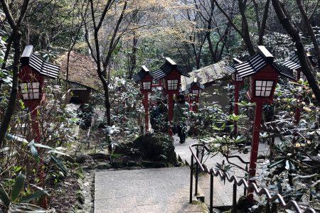 Path at Nanzo-in