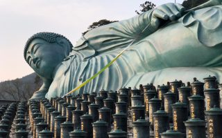 Reclining Buddha at Nanzo-in temple