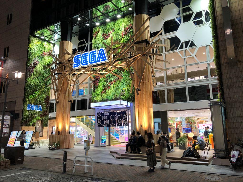 Sega Game Center, Tenjin Fukuoka. © touristinjapan.com