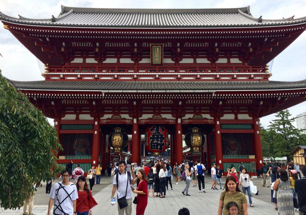 Hozomon Gate, Senso-ji
