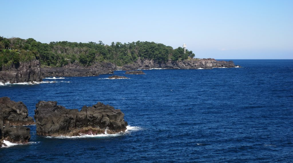 Jogasaki Coast and Kadowaki Lighthouse