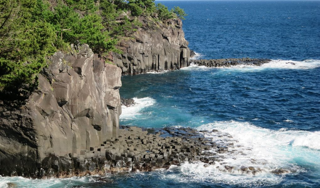 Jogasaki Coast Cliffs