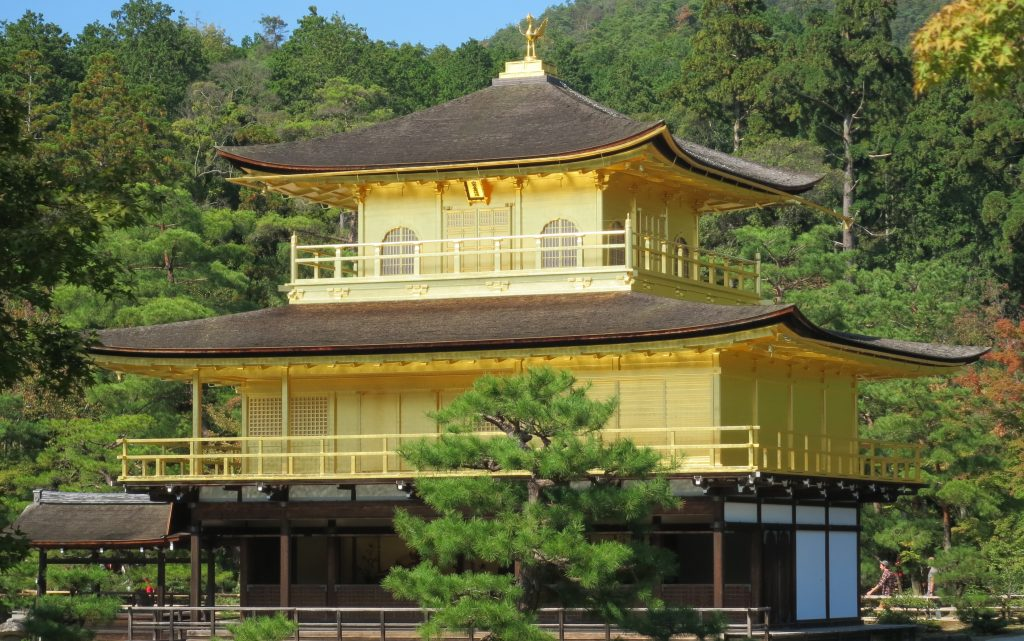 A closer look at Kinkakuji architecture