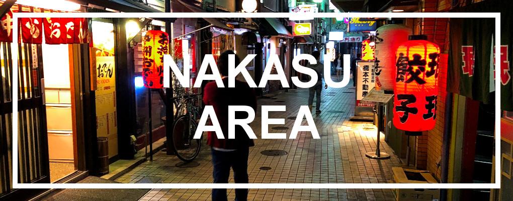 nakasu area, fukuoka