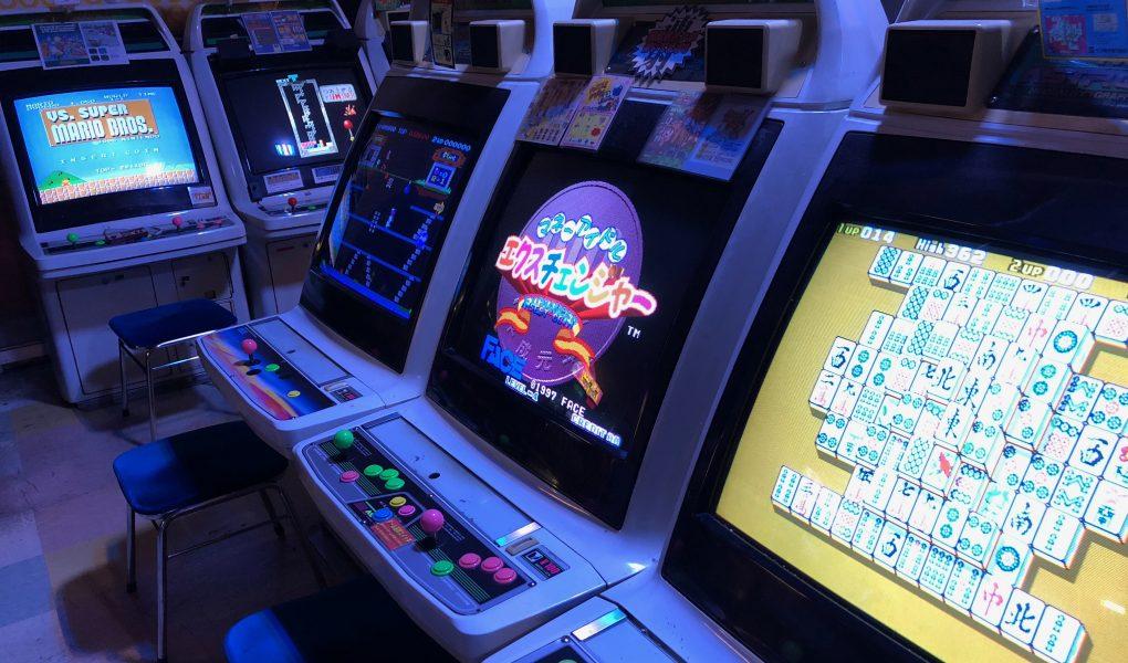 Mikado Retro Gaming Arcade in Takadanobaba, Tokyo
