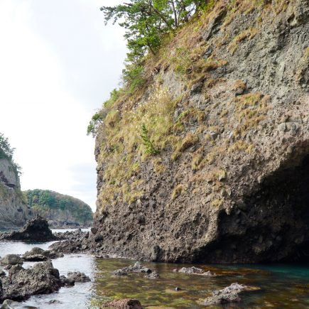 Ganmon, the sea gate. Noto Peninsula.