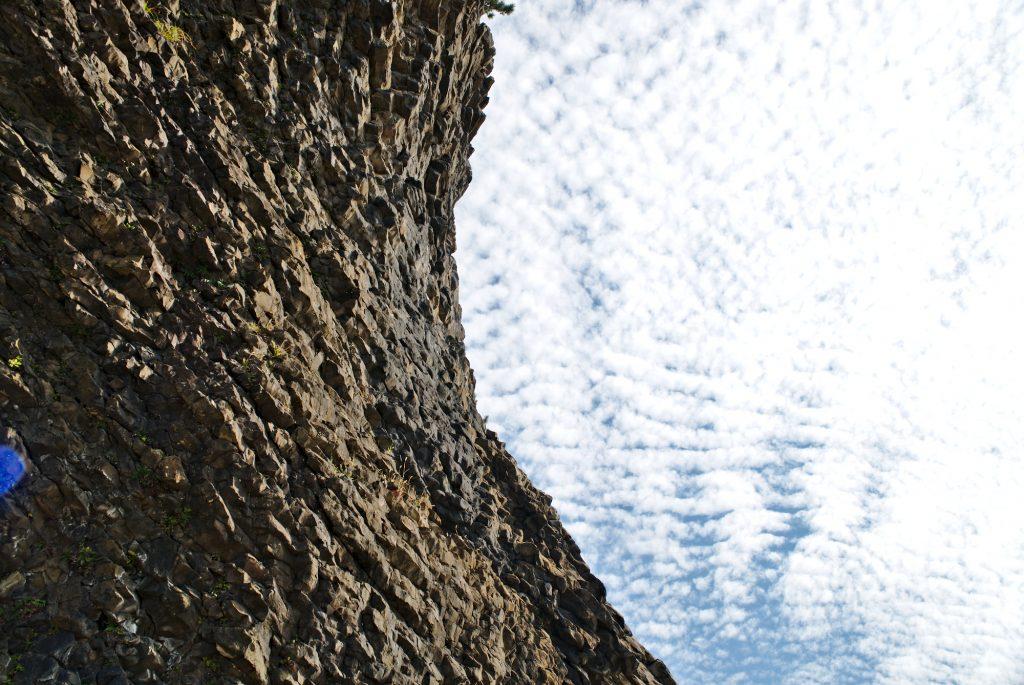 Kotogahama beach, Noto Peninsula, rock formations and clouds