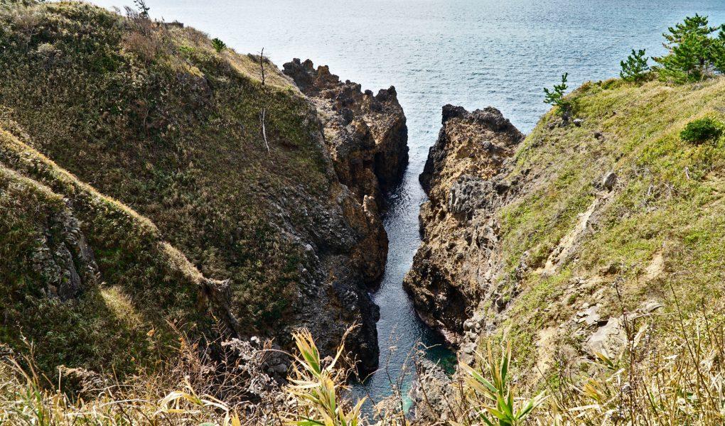Yoshitsune no Funakakushi, Noto Kongo Coast, Noto Peninsula, Ishikawa Prefecture