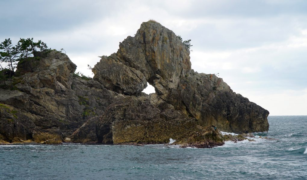 Madoiwa rock at Sosogi Coast