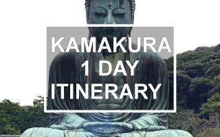 Kamakura 1 day itinerary