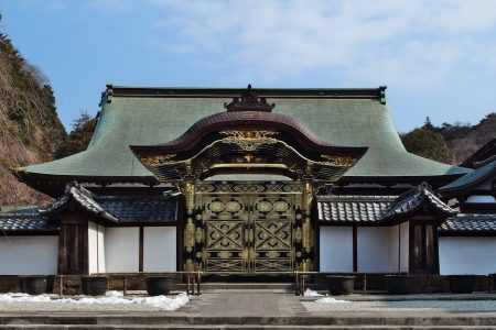 Kenchoji temple. Credit: Guilhem Vellut, licensed under CC.