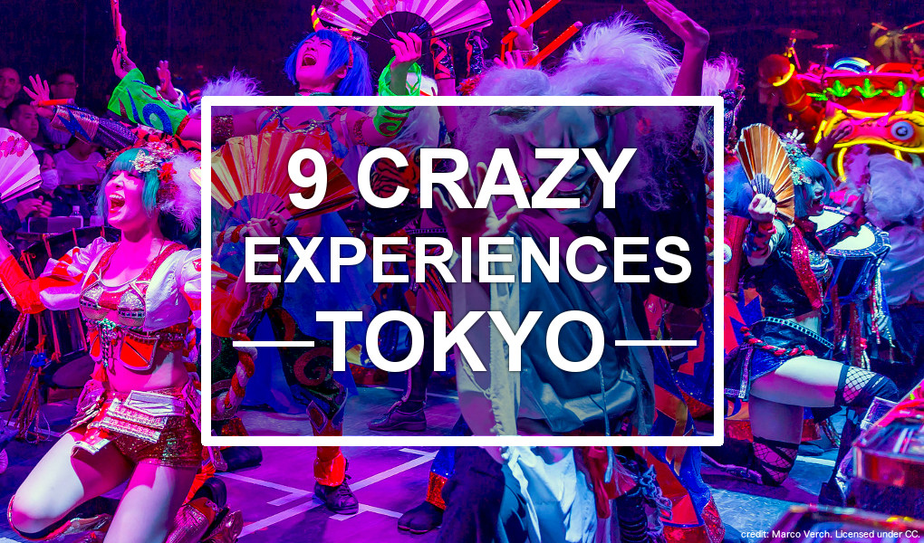 9 Crazy Experiences in Tokyo, Japan. Photo credit: Marco Verch. Licensed under CC. Modified.