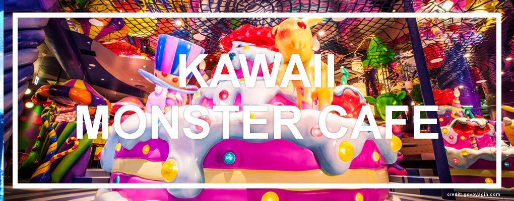 Kawaii Monster Cafe. Photo from govoyagin.com