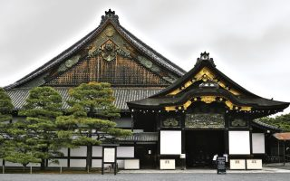 Nijo Castle, Kyoto. Credit: bethom33. Licensed under CC. Original modified.