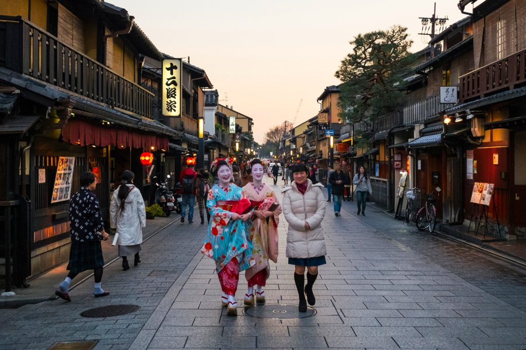 Gion District, Kyoto. Credit: a.canvas.of.light. Licensed under CC.