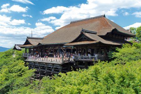 Kiyomizudera ,Kyoto. Credit: Jordy Meow. Licensed under CC.