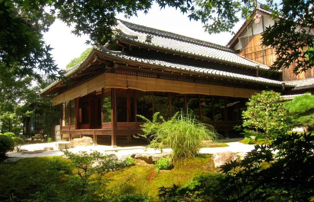 Tenjuan temple at Nanzenji. Credit: Daderot. Public Domain.