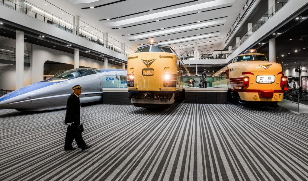Kyoto Railway Museum. Credit: mendhak. Licensed under CC. Modified.