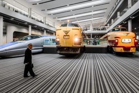 Kyoto Railway Museum. Credit: mendhak. Licensed under CC. Modified.