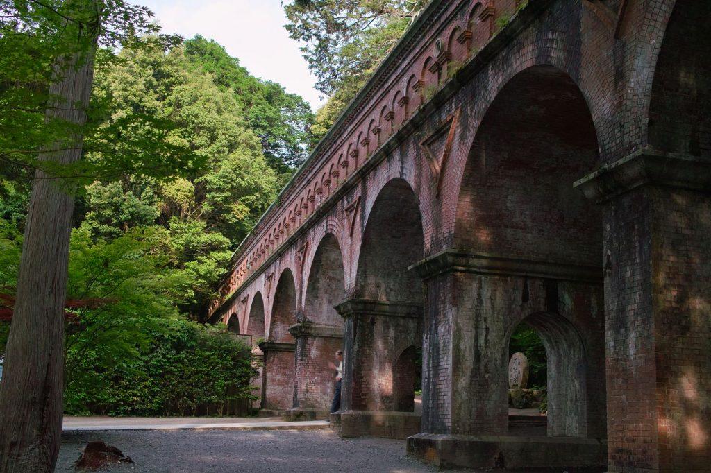 Aqueduct at Nanzen-ji. Credit: T-mizo. Licensed under CC BY 2.0.