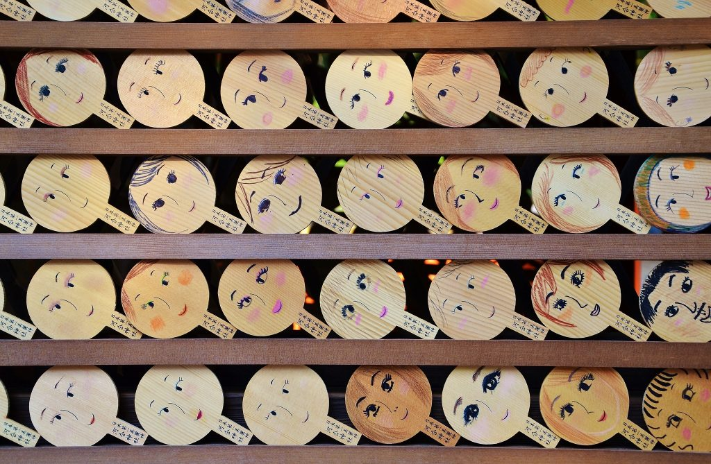 Ema Plaques at Kawai Shrine. Credit: Rosewoman. Licensed under CC BY 2.0.