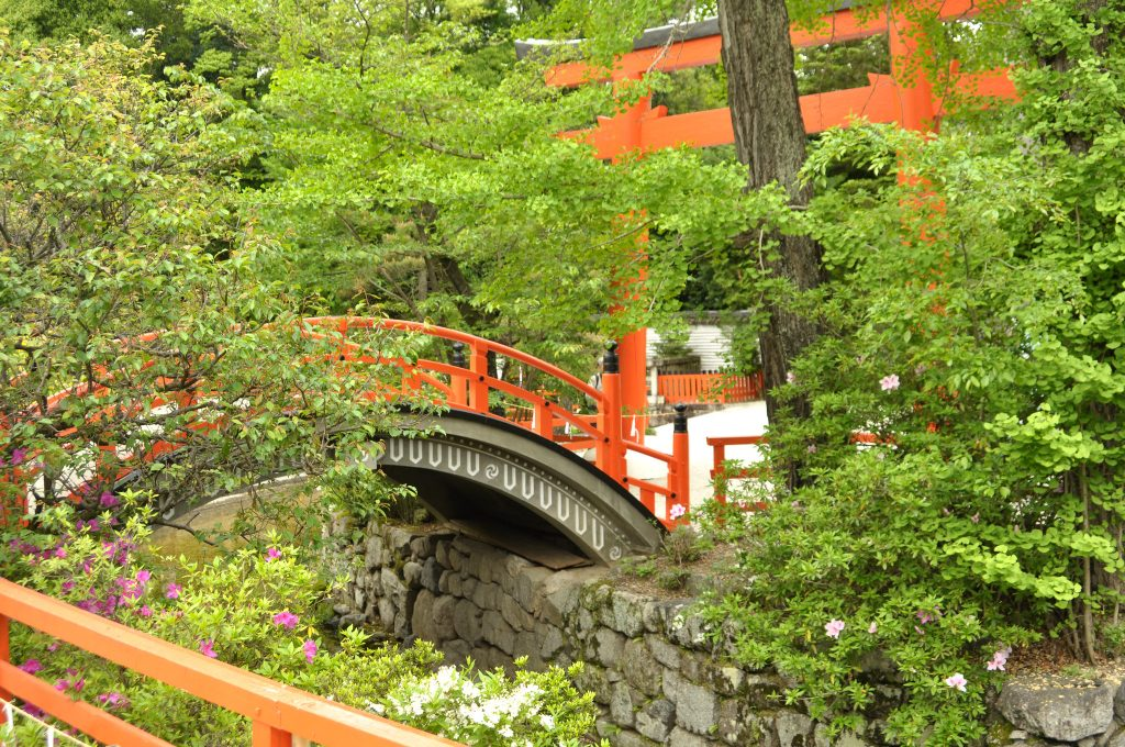 Arc bridge at Shimogamo-jinja. Credit: Appie Verschoor. Licensed under CC BY-SA 2.0.