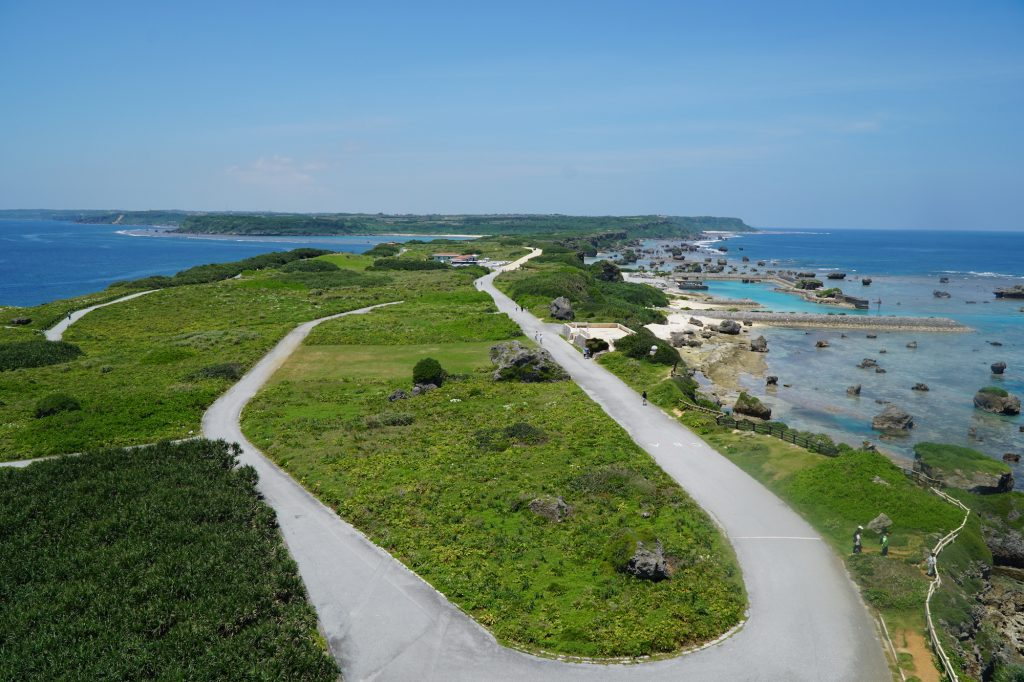 View from Higashi-hennazaki Lighthouse. Photo © touristinjapan.com