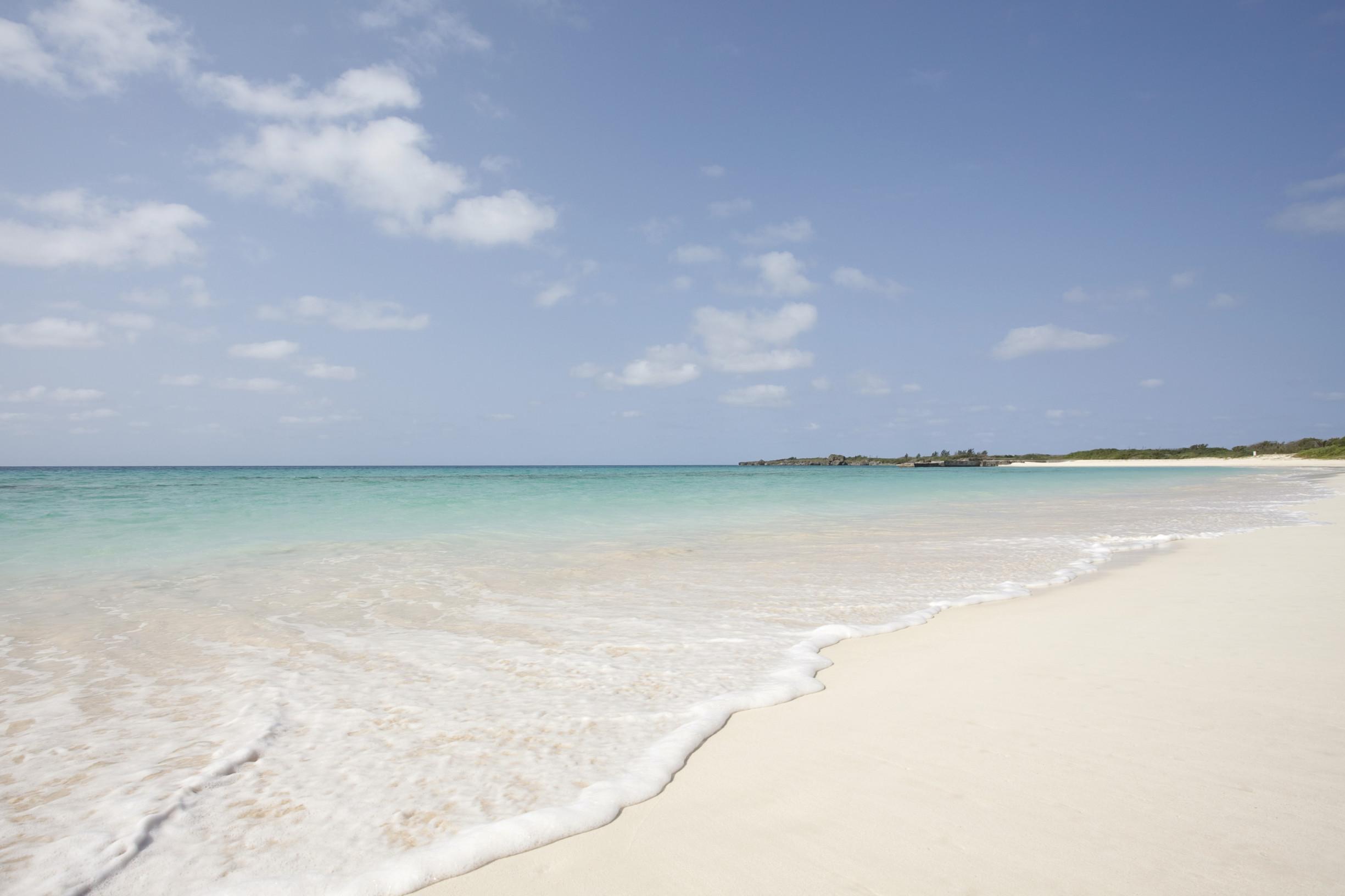 Toguchi-no-hama beach, Irabu island. ©OCVB